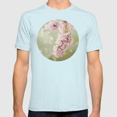 Rhapsody Mens Fitted Tee Light Blue SMALL