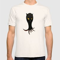 Jaguar Squid Mens Fitted Tee Natural SMALL