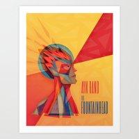 The Fountainhead Art Print