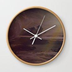 Bright Skies Wall Clock
