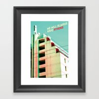 We Will Always Have Athe… Framed Art Print