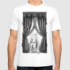 Portrait of Legion Mens Fitted Tee White SMALL