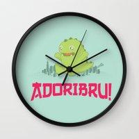 Adoribru! Wall Clock