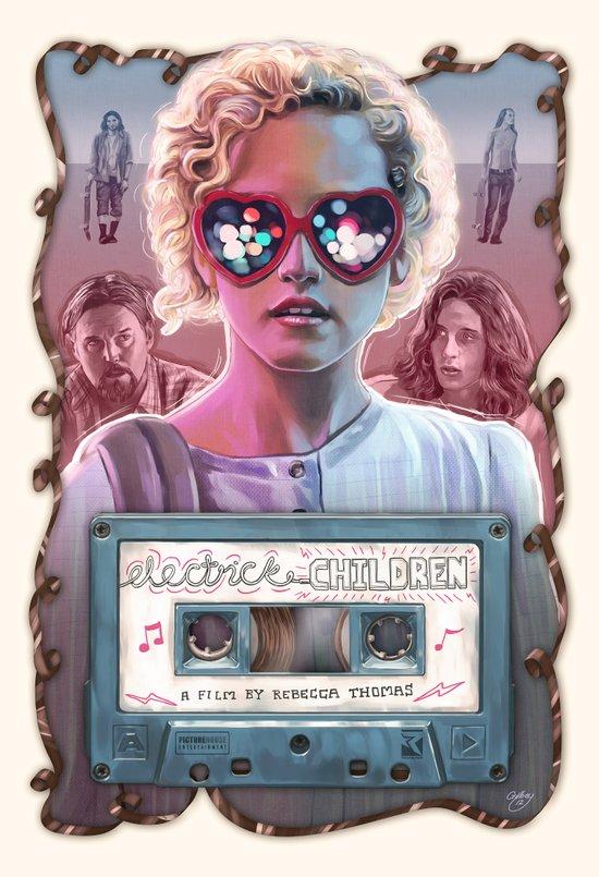 Electrick Children (full poster) Art Print