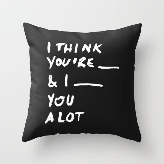 ____ Throw Pillow