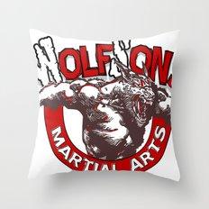 WolfSons2 Throw Pillow