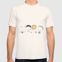 All together Mens Fitted Tee Natural SMALL