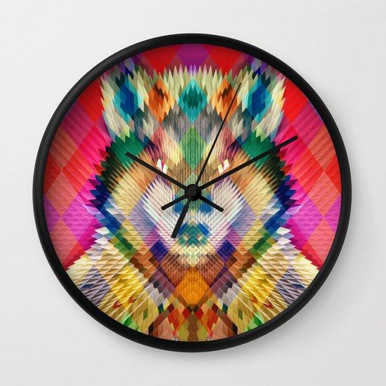 Corporate Wolf Wall Clock