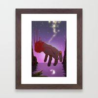 Hook Framed Art Print