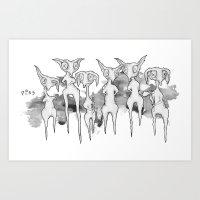 Lurkers Art Print