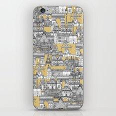 Paris toile gold iPhone & iPod Skin