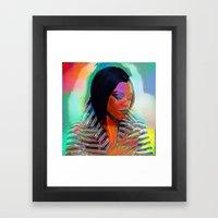 Lady Leshurr Framed Art Print