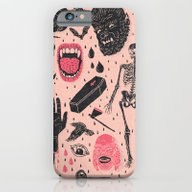 iPhone & iPod Case featuring Whole Lotta Horror by Josh Ln