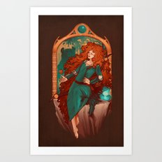 Chase the Wind Art Print