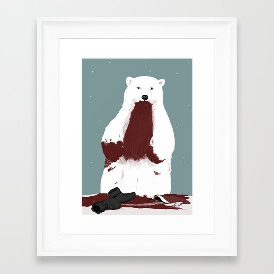 santa? Framed Art Print