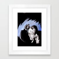 The Power of Christ Compels You Framed Art Print
