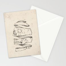 Twister Skull Stationery Cards