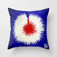 The Who, My Generation - Soundwave Art Throw Pillow