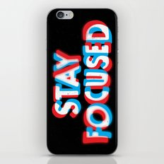 Stay Focused iPhone & iPod Skin