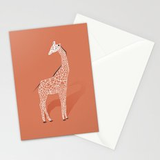 Animal Kingdom: Giraffe I Stationery Cards