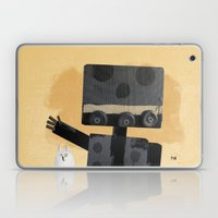 Happy Robot Happy Cat Laptop & iPad Skin