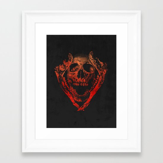 JAWZ2 Framed Art Print