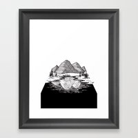 Enjoy the Mountains Framed Art Print