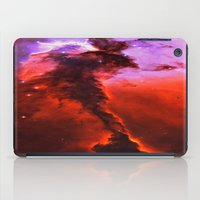Red Nebula iPad Case