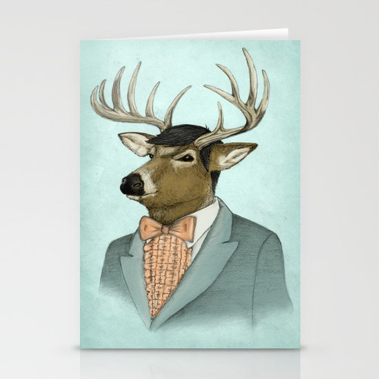 Going Stag Stationery Card