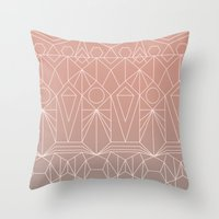 My Favorite Pattern 10 Y Throw Pillow