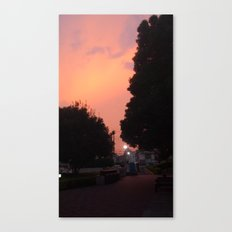 Saitama Sky Canvas Print