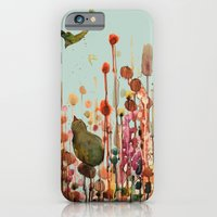 iPhone & iPod Case featuring learning to fly by sylvie demers