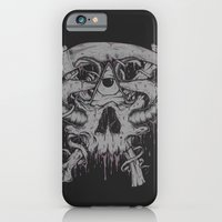 iPhone & iPod Case featuring Sickle & Bone  by BEADLER Design and Illustration