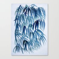 Blue Breeze Canvas Print