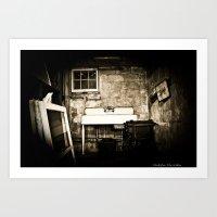 Wine Cellar? Art Print