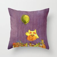 To The Sky And Beyond Throw Pillow