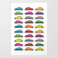 Bugs!! Art Print