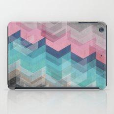 Colored Chevron  iPad Case