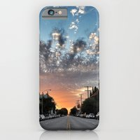 iPhone & iPod Case featuring Broadway Blvd Sunrise by RichCaspian
