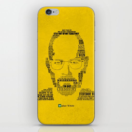 Breaking Bad:  Walter White iPhone & iPod Skin