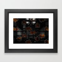 Distracting A Ghost: 1st… Framed Art Print