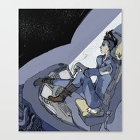 The Krows Nest Canvas Print
