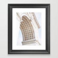 Paris In New York Framed Art Print