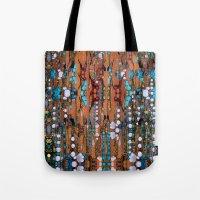 Abstract Indian Boho Tote Bag