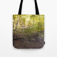 Morning Light In The For… Tote Bag