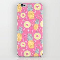 Pink Pinapple iPhone & iPod Skin