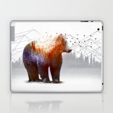 A Wilderness Within / Bear Laptop & iPad Skin