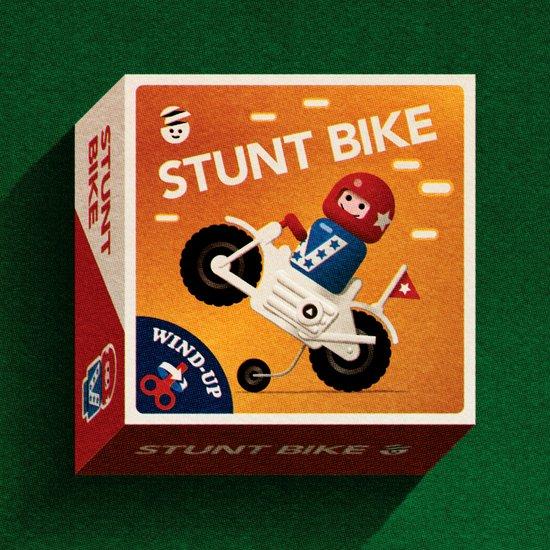 Stunt Bike Art Print