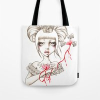 Honey Blood Tote Bag