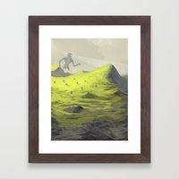 Looking For Something Framed Art Print